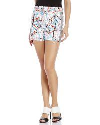 Sachin & Babi - Splatter Shorts - Lyst
