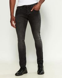 PRPS Dynamic Windsor Moto Skinny Jeans - Black