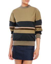 Hache - Color Block Sweatshirt - Lyst