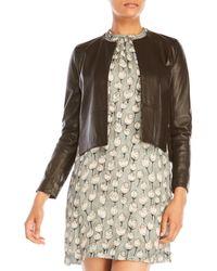 Ottod'Ame - Leather Jacket - Lyst