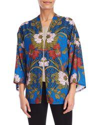 Jealous Tomato - Printed Kimono Jacket - Lyst