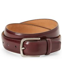 Cole Haan - Spazzolato Leather Belt - Lyst