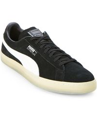 PUMA - Suede V2 Low Top Sneakers - Lyst