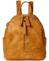 Moda Luxe Mustard Bowie Convertible Backpack - Multicolor