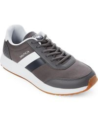 Nautica - Charcoal & Navy Aport Low-top Sneakers - Lyst