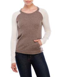 Vkoo - Cashmere Baseball Sweater - Lyst