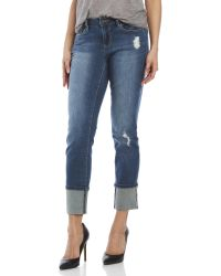 Earl Jean - Straight Cuff Jeans - Lyst