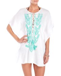 Spiaggia Dolce - Embroidered Cover-Up - Lyst