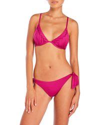 Annaclub by La Perla - Shirred Underwire Bikini - Lyst