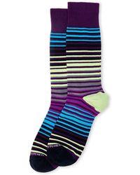 Unsimply Stitched | Alexander Stripe Crew Socks | Lyst