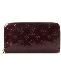 Louis Vuitton - Vernis Monogram Zippy Wallet - Vintage - Lyst