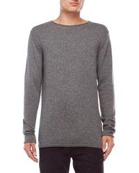 Dstrezzed - Grey Pullover Sweater - Lyst