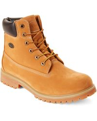 Lugz - Golden Wheat Lace-up Work Boots - Lyst