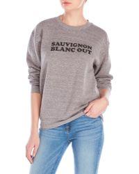 Sub_Urban Riot - Blanc Out Fleece Sweatshirt - Lyst