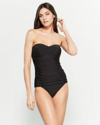 bac78b2b63073 Women's DKNY Monokinis and one-piece swimsuits On Sale - Lyst