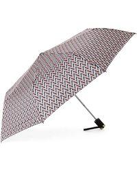 Adrienne Vittadini - Blush Legacy Auto Open Umbrella - Lyst