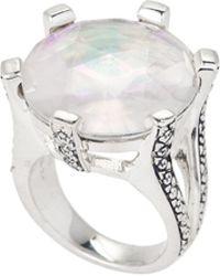 Stephen Dweck - Sterling Silver Crystal Quartz Ring Size 7 - Lyst