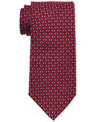 Pierre Cardin - Neat Butterfly Print Silk Tie - Lyst