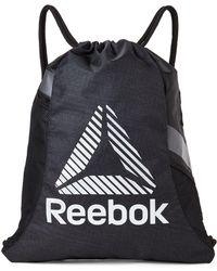 Reebok - Black Gauntlet Performance Training Gym Sack - Lyst