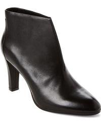 Tahari - Black Meredith Leather Ankle Booties - Lyst