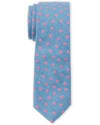 Joe's Collection - Floating Floral Slim Tie - Lyst