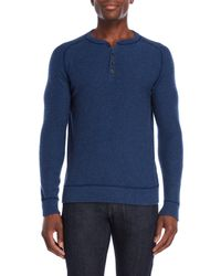 Forte - Cashmere Henley Sweater - Lyst