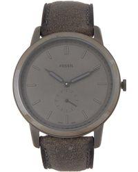Fossil - Fs5445 Grey Watch - Lyst