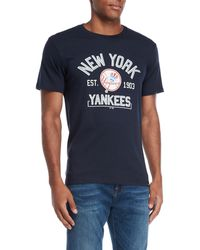 47 Brand - New York Yankees Scrum Logo Tee - Lyst