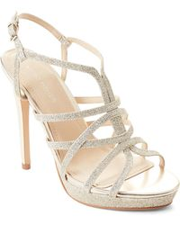 8d209724fdd Marc Fisher - Jaslyn Caged Platform Dress Sandals - Lyst