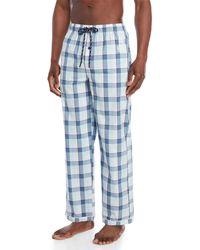 Psycho Bunny - Woven Pajama Pants - Lyst