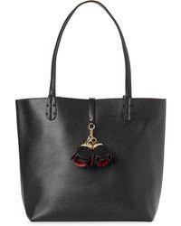 Imoshion - Black Bag-in-bag Reversible Vegan Leather Tote - Lyst