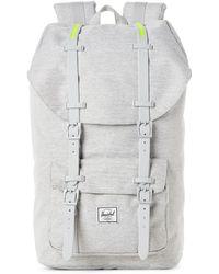 Herschel Supply Co. - Light Grey Shadow Little America Backpack - Lyst 52950aa43c