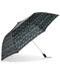Nautica Striped Auto Open Umbrella - Multicolor