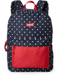 Levi's Polka Dot Backpack - Blue