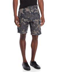 Levi's - Camouflage Cargo Shorts - Lyst