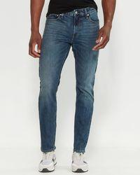 Calvin Klein - Indigo Frost Slim Leg Jeans - Lyst