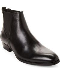 6eca390bee4 Steve Madden Leston (black) Men's Boots for Men - Lyst