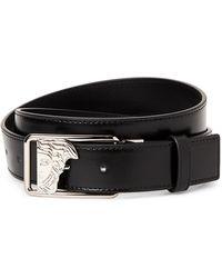 Versace - Medusa Open Buckle Belt - Lyst