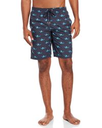 La Perla - Sea Print Board Shorts - Lyst