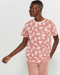 Wesc Maxwell Puzzle Check Short Sleeve Tee - Multicolor