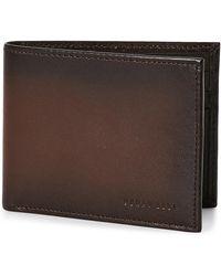 Perry Ellis Portfolio - Michigan Slim Bi-Fold Wallet - Lyst