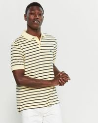 Nautica Striped Short Sleeve Polo - Multicolor
