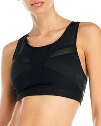 90 Degree By Reflex - Mesh Sports Bra - Lyst