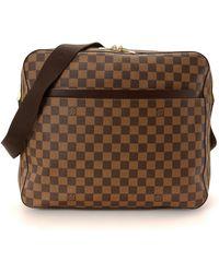 Louis Vuitton | Damier Ebene Dorsoduro Messenger Bag - Vintage | Lyst