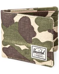 Herschel Supply Co. Frog Camp Roy Bi-fold Wallet - Multicolor