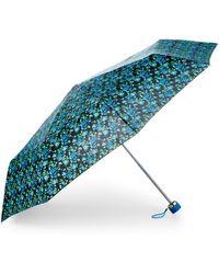Betsey Johnson - Contrast Print Umbrella - Lyst