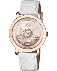 Gv2 - 3601 Catania Rose Gold-tone Diamond Watch - Lyst