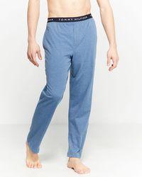 Tommy Hilfiger Knit Pajama Pants - Blue