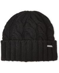 308059d2f9e Michael Kors - Cable Knit Cuff Beanie - Lyst