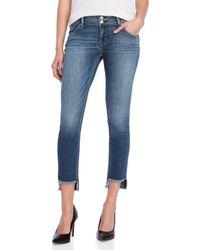 Hudson Jeans - Cat Mid-rise Skinny Jeans - Lyst